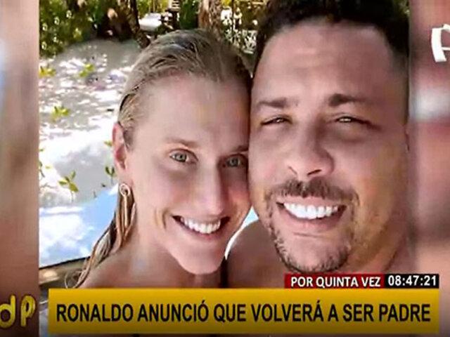 Ronaldo será padre por quinta vez a 11 años de hacerse una vasectomía