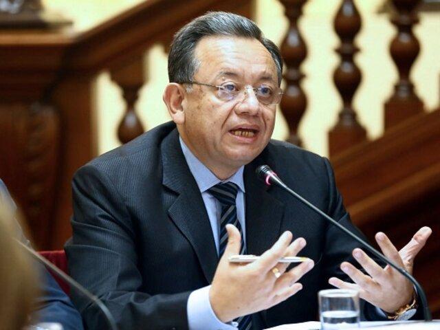 Congreso: Edgar Alarcón pide que se reprograme el pleno tras renuncia de su abogado