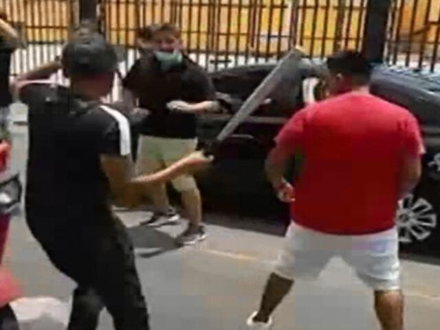 San Miguel: detienen a mototaxista informal que atacó a un sujeto con bate de beisbol