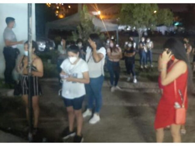 Trujillo: intervienen a 25 jóvenes en fiesta COVID