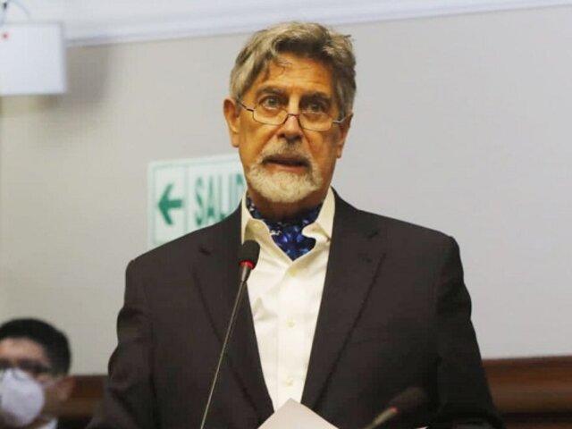 Congreso rechazó debatir moción de censura contra Sagasti