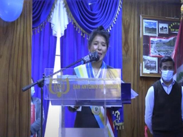 Puno: conoce a Yolinda Barrantes, la alcaldesa más joven del Perú