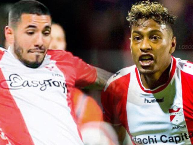 Con Peña y Araujo, FC Emmen igualó 1-1 con Groningen en la Eredivisie