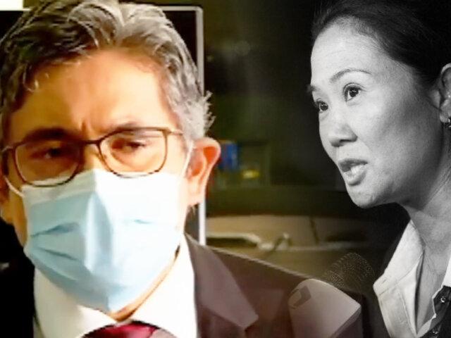 ¡Exclusivo! Pérez se pronuncia tras pedido de la Fiscalía de 30 años de cárcel para Keiko Fujimori