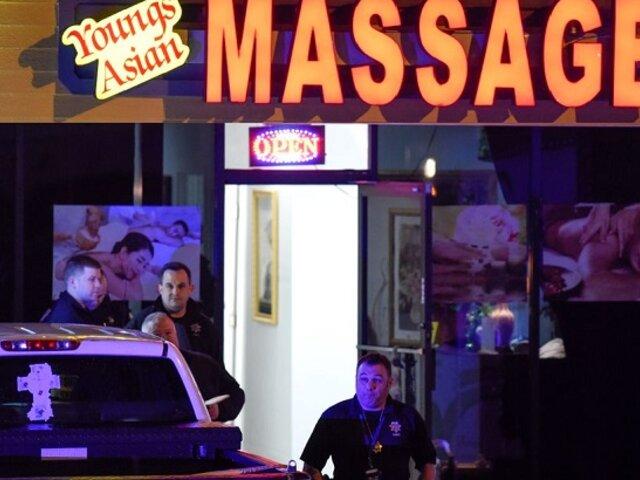 EEUU: Reportan al menos 8 muertos tras tiroteos en tres spas de Atlanta
