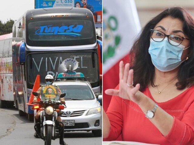 Bermúdez sobre paro de transportistas: Les hemos propuesto medidas realistas