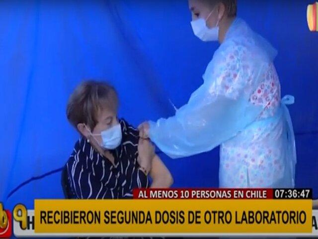 Chile: denuncian haber sido vacunados con dos fármacos diferentes