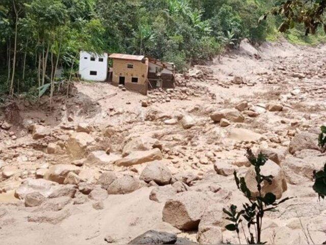 Más de 3 mil damnificados deja huaico en Canchaque