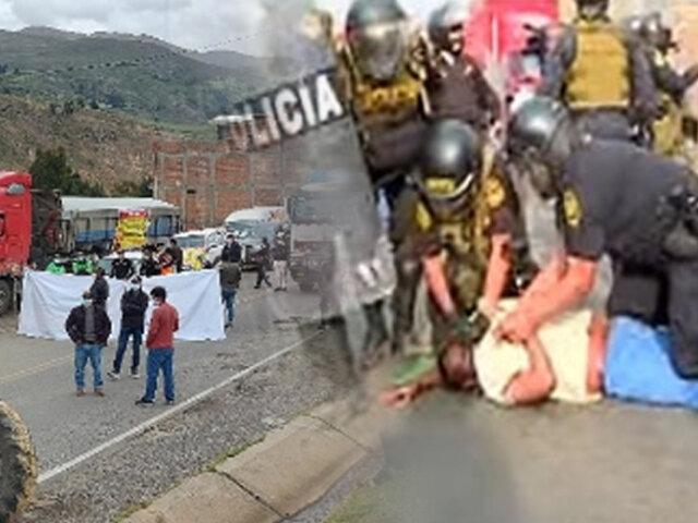 Paro de transportistas: PNP detendrá y denunciará a toda persona que bloquee las vías