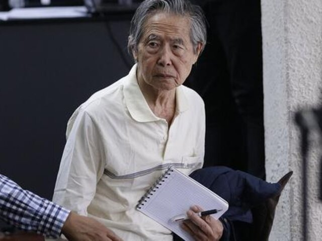 Alberto Fujimori retornó al penal de Barbadillo tras ser internado en clínica