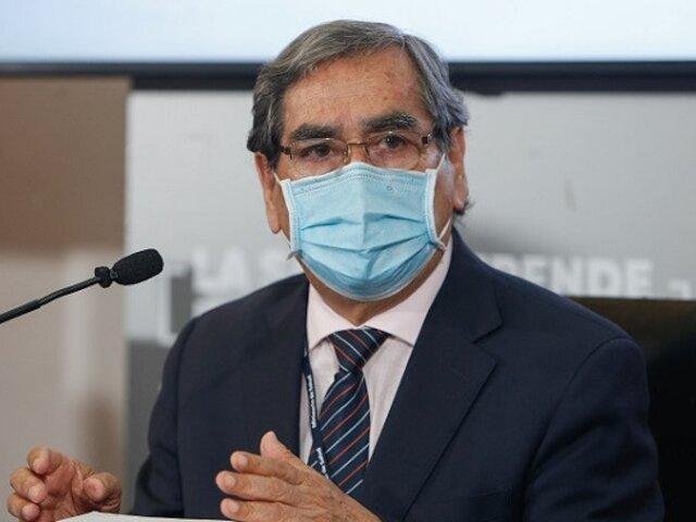 Óscar Ugarte: pico más alto de defunciones por COVID-19 se registró la semana pasada