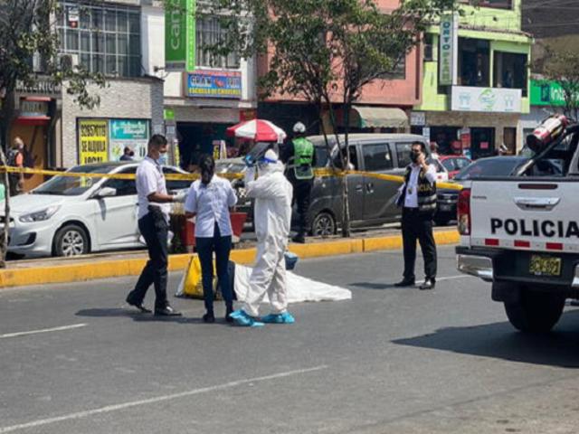 SMP: policía abate a supuesto trabajador de delivery que mató a vendedor de celulares