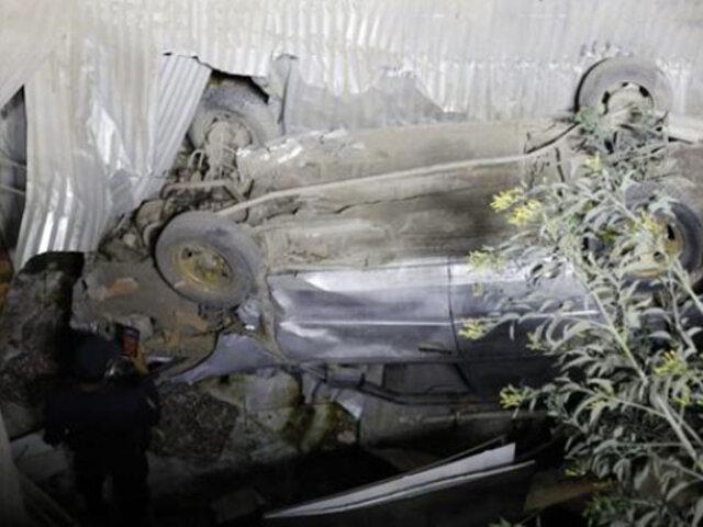 Independencia: vehículo cae sobre casa y mata a hombre que estaba durmiendo