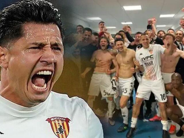 Gianluca Lapadula: Benevento venció a la Juventus de Cristiano Ronaldo