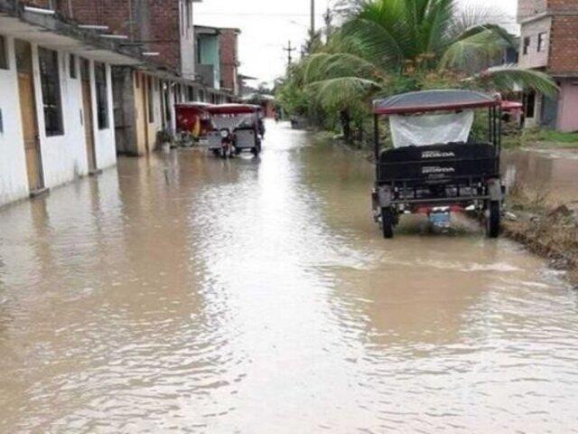 Cultivos dañados y casas inundadas dejó torrencial lluvia en Yurimaguas