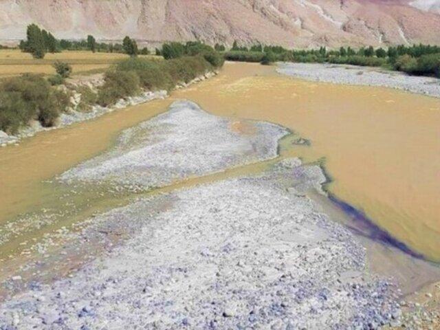 Arequipa: piden declarar en emergencia cuenca del río Tambo por contaminación