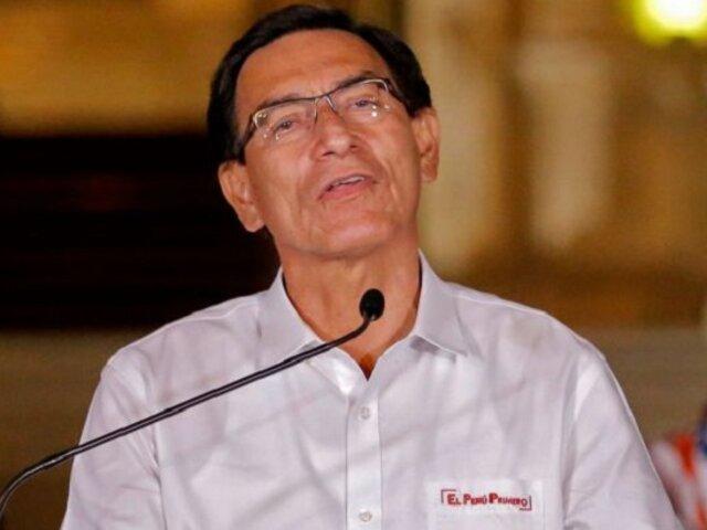Vizcarra: Equipo especial apeló contra fallo que desestimó prisión preventiva