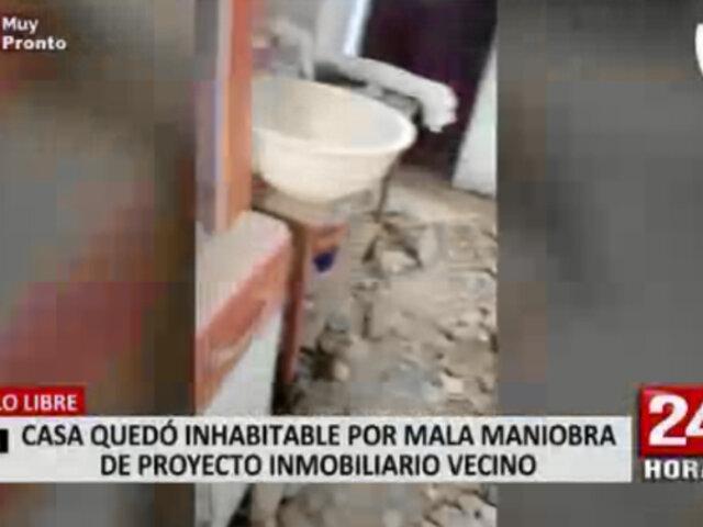 Pueblo Libre: inmobiliaria acusada de generar daños en vivienda se hará cargo de reparaciones