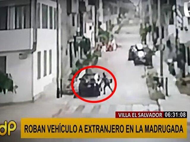 VES: ladrones le roban vehículo a un ciudadano extranjero