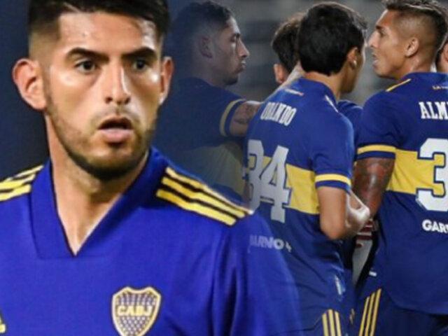Carlos Zambrano: Boca Juniors goleó 3-0 a Defensores de Belgrano