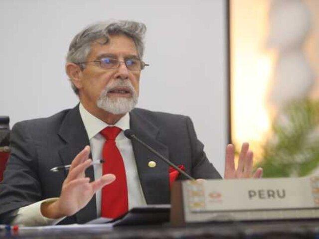 Congresista Chagua de UPP presentó nuevo pedido de moción de censura contra Sagasti