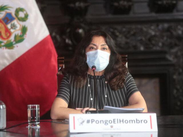 """Premier Bermúdez anuncia nuevas medidas de salud pública para """"encontrar un equilibrio"""""""
