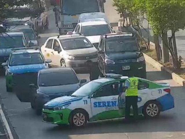 Detienen banda de asaltantes y clonadores de tarjetas bancarias en Surco
