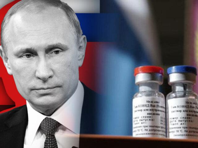 Putin confía que Rusia logrará inmunidad de rebaño para COVID-19 en setiembre
