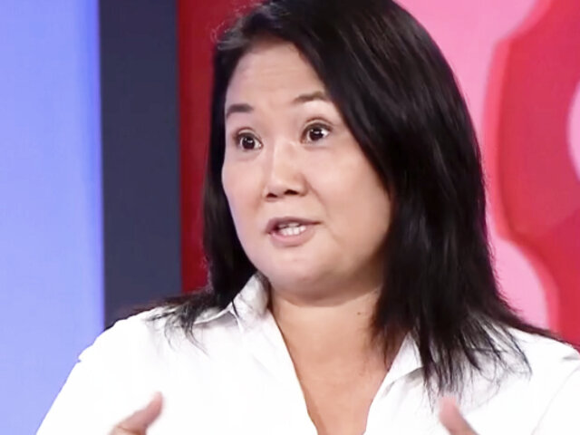 "Fujimori sobre pedido de fiscal Pérez para que no viaje a Ecuador: ""Me llama la atención"""
