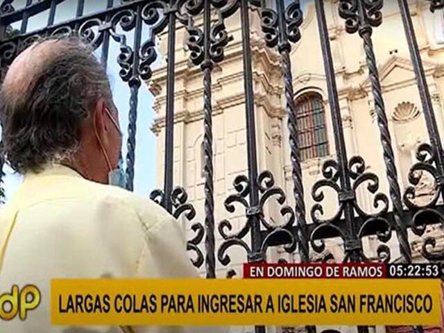 Domingo de Ramos: se vivió devoción y fe en medio de restricciones sanitarias