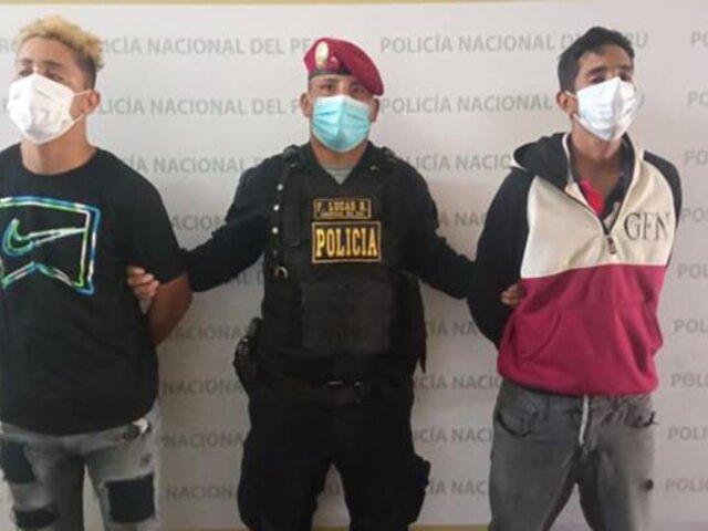 """Callao: PNP detiene a banda criminal """"Los chamos de la playa Rímac"""""""