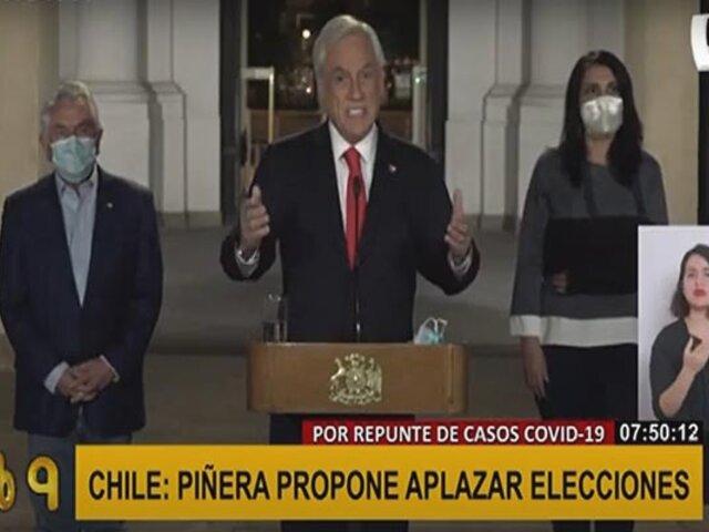 Chile: gobierno pide aplazar elecciones por aumento de casos por COVID-19