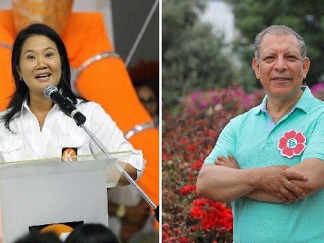 Keiko Fujimori y Marco Arana se lanzan pullazos en debate del JNE