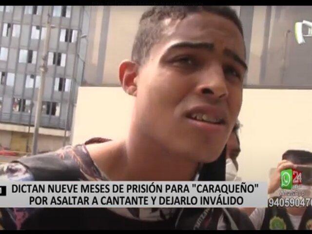Corte de Lima Norte dispuso prisión preventiva contra 'Caraqueño'