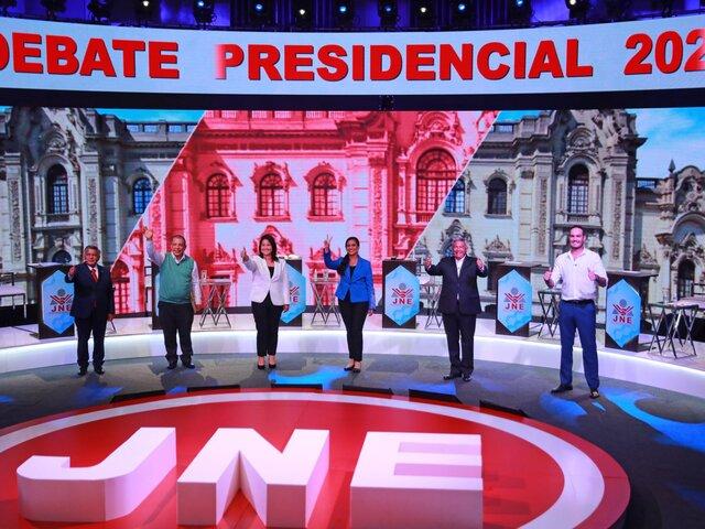 Revive los pullazos y las frases polémicas que dejó el primer debate presidencial