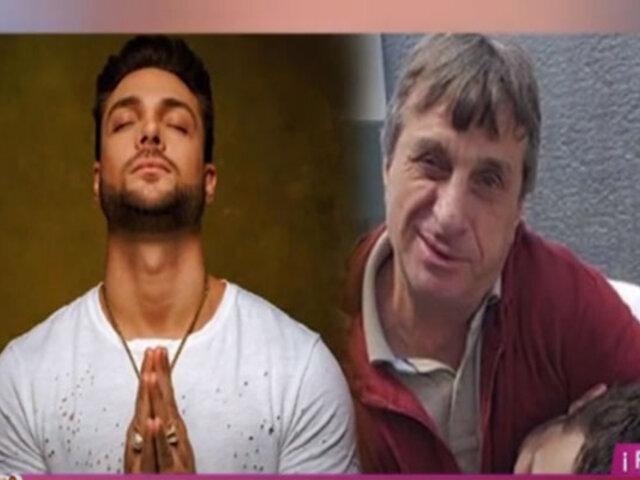 Picantitas del espectáculo: padre de Nicola Porcella se recupera lentamente del Covid-19