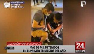 Lima: más de 1 000 delincuentes detenidos en lo que va del año