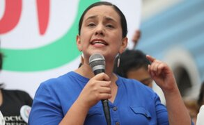 Verónika Mendoza responde a militantes de JP que dicen que no votarán por ella