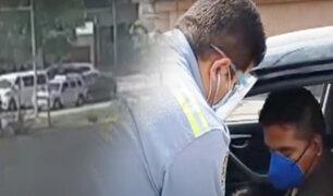 Chofer en estado de ebriedad ocasiona quíntuple choque en Surco