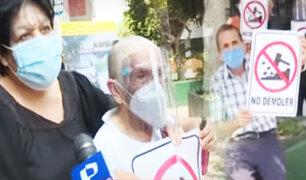 """Surco: vecinos denuncian irregularidades en obra en la urbanización """"Los Próceres"""""""