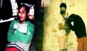Ladrón disfrazado de mendigo asalta a joven en El Agustino