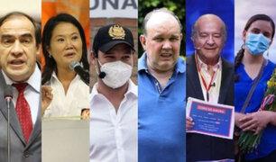 Lescano lidera simulacro de votación y cinco candidatos disputan segundo lugar, según Datum