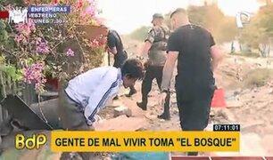 El Agustino: operativo municipal interviene personas de mal vivir y mendigos