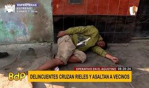 El Agustino: vivienda vendería alcohol metílico a personas de mal vivir