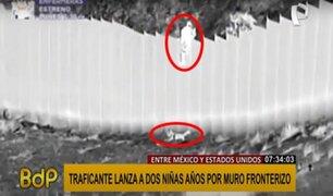 EEUU: arrojan a dos niñas migrantes desde lo alto de muro fronterizo de 4 metros