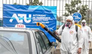 Estos son los puntos en Lima y Callao donde taxistas podrán desinfectar gratis sus vehículos