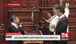 Excongresista Luis Galarreta dio positivo a la COVID-19