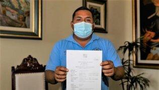 Alcalde de Trujillo presentó acción de amparo para adquirir directamente vacunas contra COVID-19