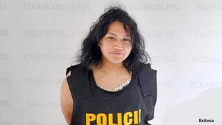 Cae hija del 'Cholo Jacinto' por presunta estafa de 28 mil soles
