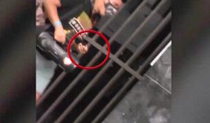 Serenos capturan a sujeto que robó billetera a hombre que dormía en Jirón de la Unión